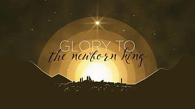 Winter Night Bethlehem Title Still