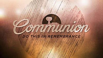 Woodgrain Communion Still